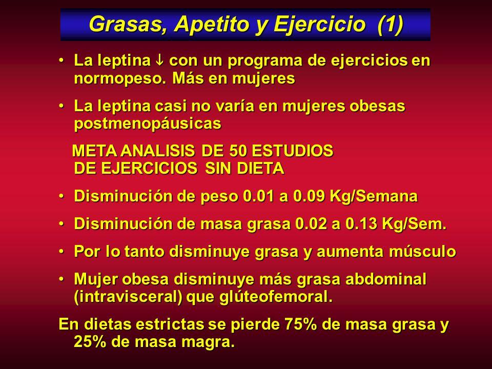 Gasto Calórico = Grasa x Músculo 1 Kg de Tejido Adiposo = 800 grs de Grasa1 Kg de Tejido Adiposo = 800 grs de Grasa 1 gr de Grasa = 9 calorías1 gr de