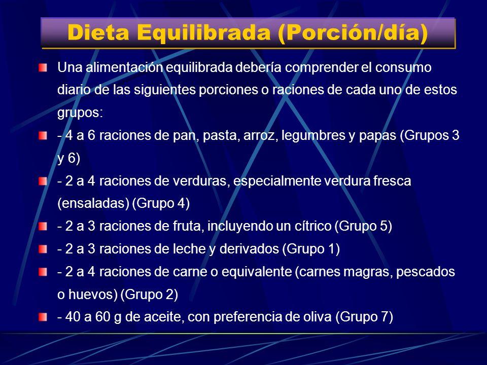 Alimentación Equilibrada o Saludable Alimentación Equilibrada o Saludable Es aquella que mantiene a una persona en óptimo estado de salud y le permite