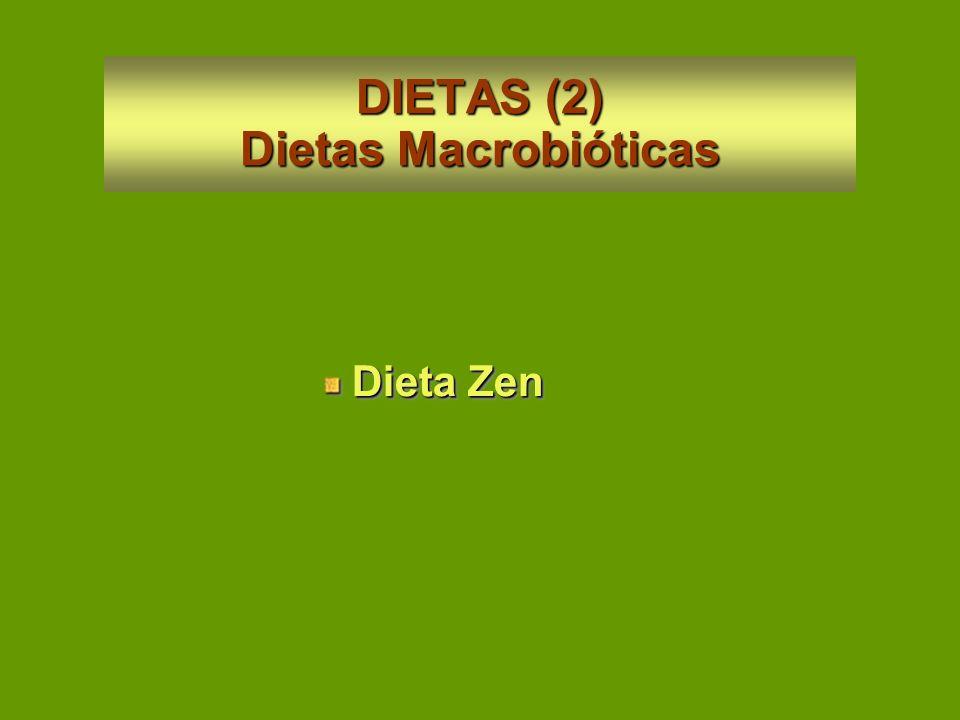 DIETAS (1) Dietas Vegetarianas Vegetarianas Estrictas = Veganismo OvolacteovegetarianasCrudívoros Vegetarianas Estrictas = Veganismo Ovolacteovegetari