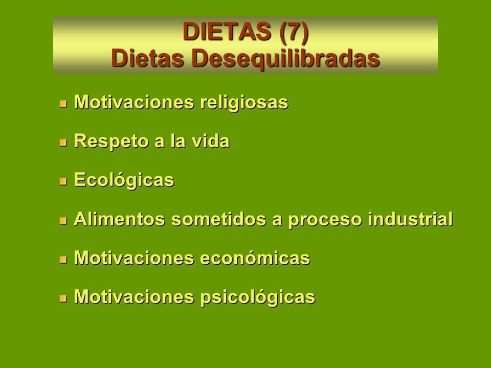 DIETAS (6) Dietas Pintorescas Dieta de la Clínica Mayo Dieta de la bailarina Erna Carise Dieta para mejorar la sexualidad Dieta Rastafari Dieta de la