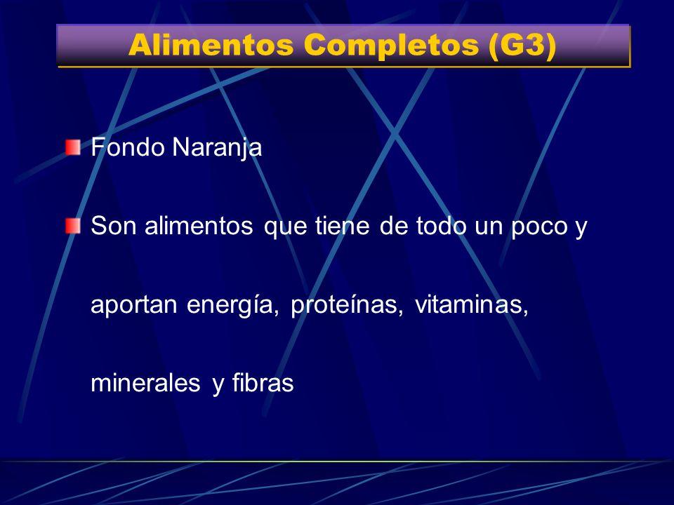 Alimentos Completos (G3) Grupo 3