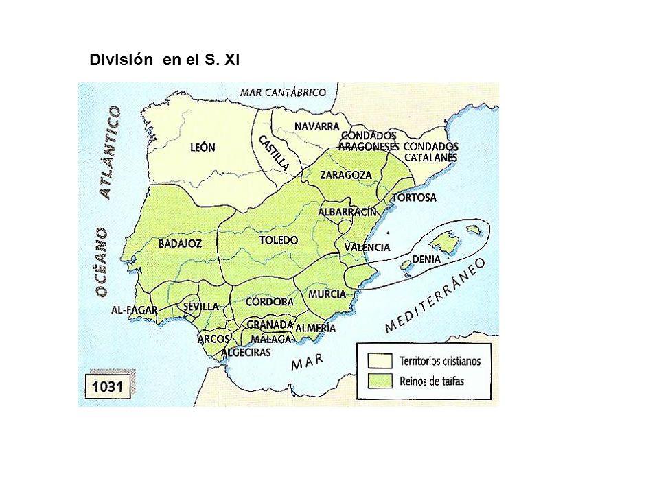 División en el S. XI