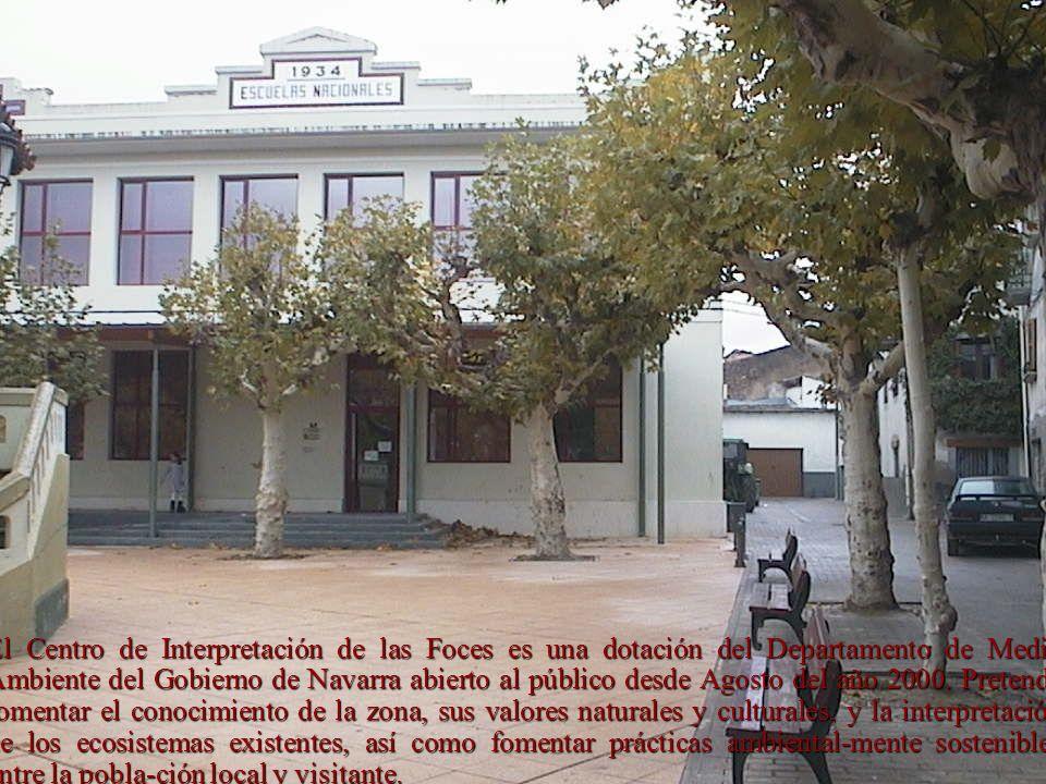El Centro de Interpretación de las Foces es una dotación del Departamento de Medio Ambiente del Gobierno de Navarra abierto al público desde Agosto de