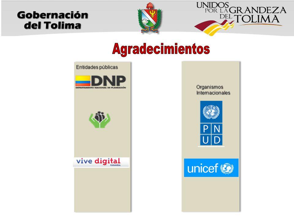 Entidades públicas OrganismosInternacionales