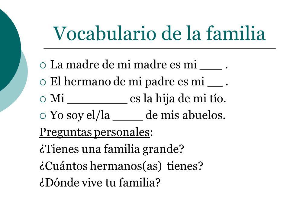 Vocabulario de la escuela ¿Cómo se dice…..?