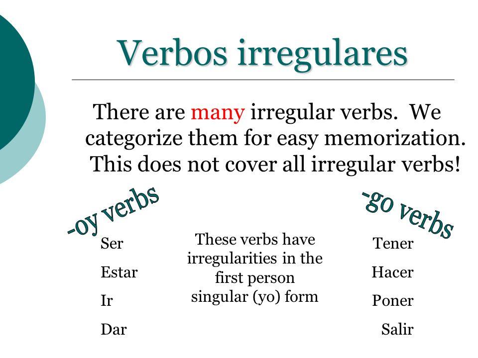 Verbos irregulares Practica: ¿A dónde ___ tú despues de la clase.