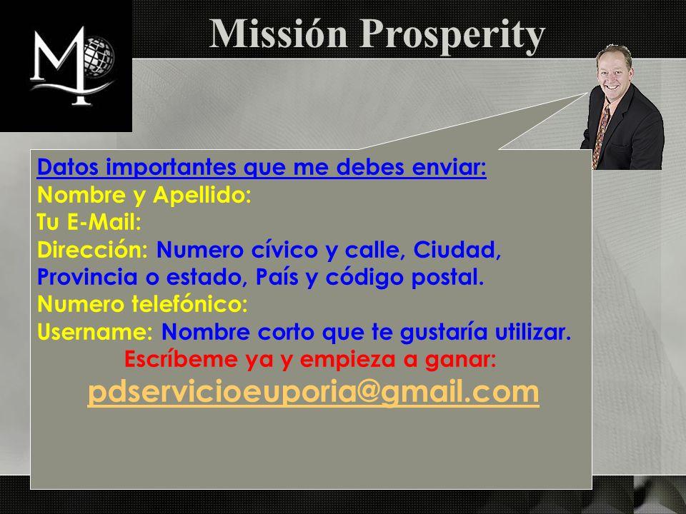 Datos importantes que me debes enviar: Nombre y Apellido: Tu E-Mail: Dirección: Numero cívico y calle, Ciudad, Provincia o estado, País y código posta