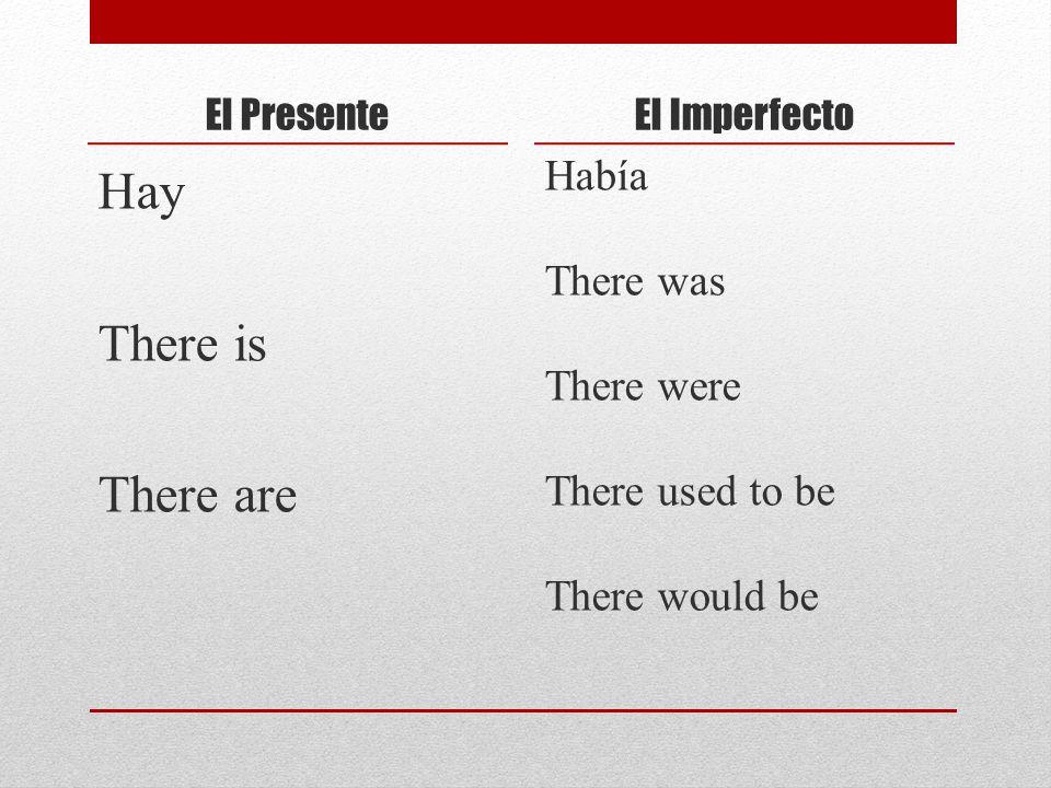 El Futuro informal Ir + a + infinitive Going to + infinitve El Imperfecto Ir + a + infinitive Was going to + infinitve