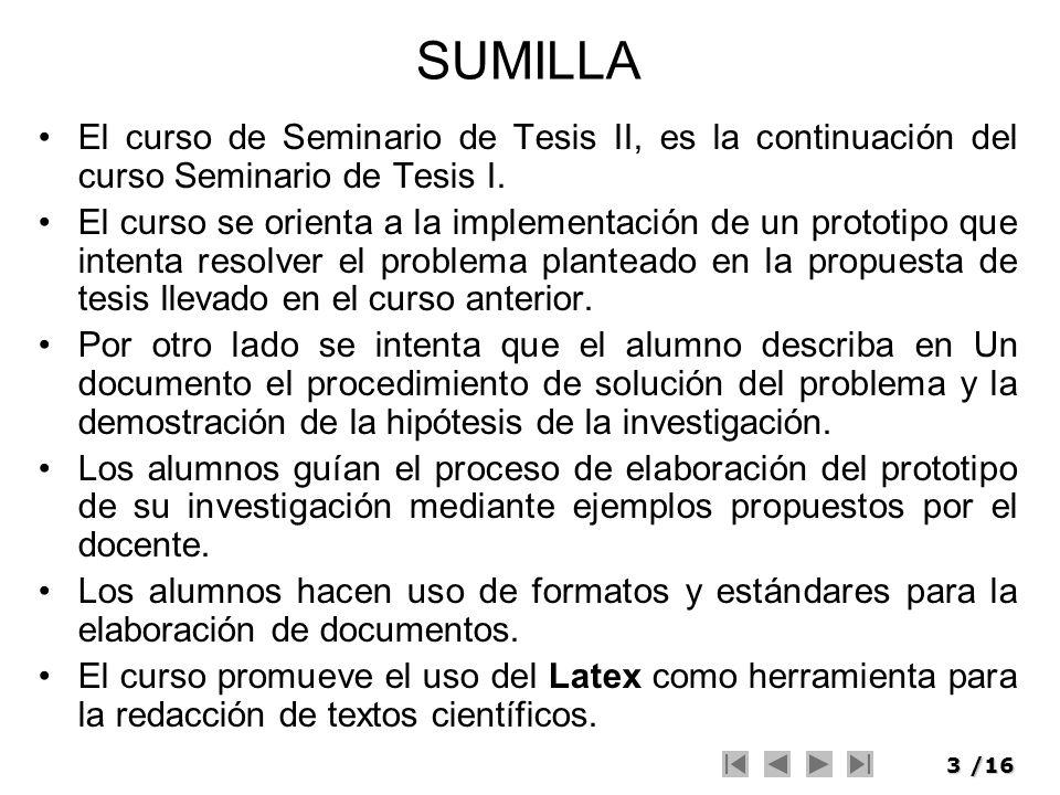 4/16 MODELO DE SOLUCION