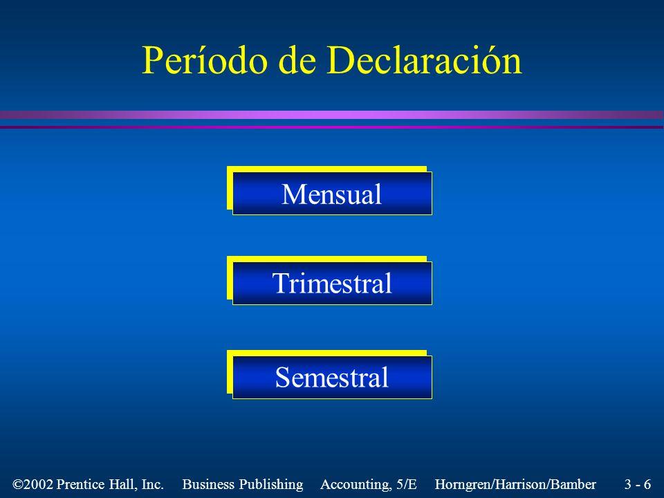 3 - 6 ©2002 Prentice Hall, Inc.