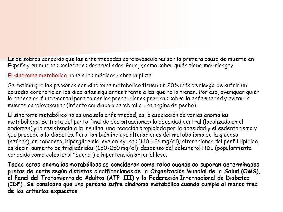 Es de sobras conocido que las enfermedades cardiovasculares son la primera causa de muerte en España y en muchas sociedades desarrolladas. Pero, ¿cómo