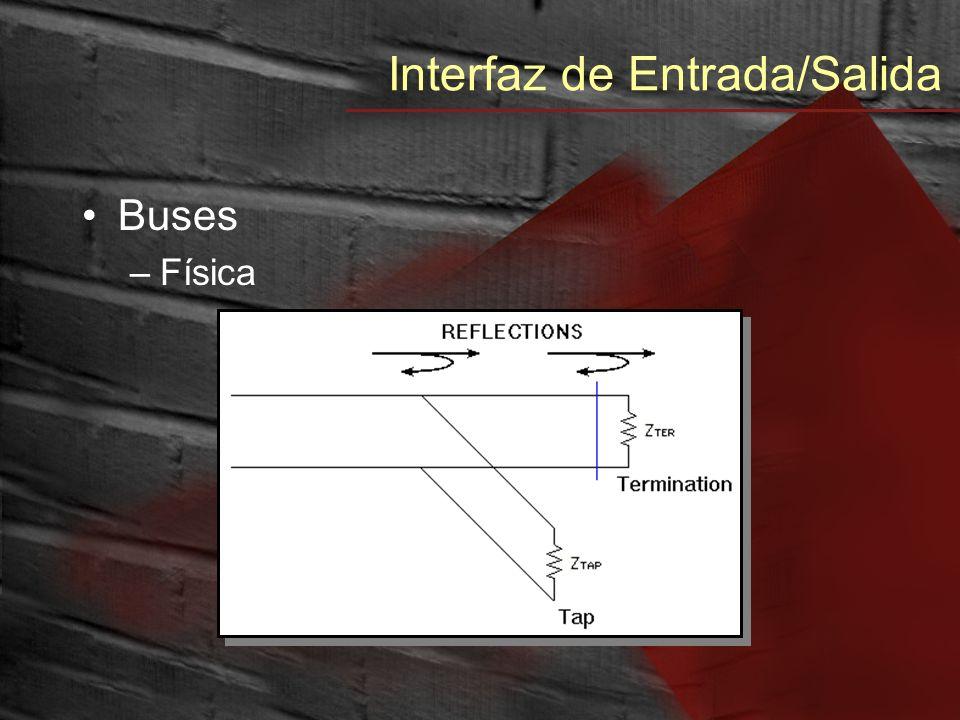 Interfaz de Entrada/Salida Buses –Retardos y Skew (asimetría)