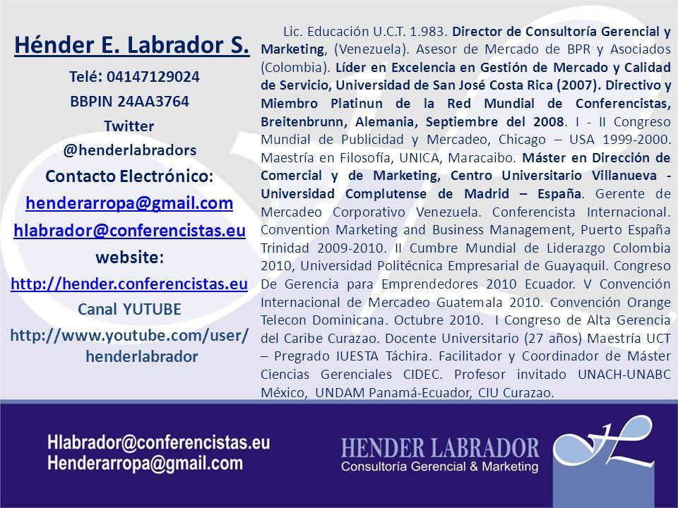Centro Internacional de Educación Continua, CIDEC Contenido Temático General GERENCIA COMERCIAL 1.COMERCIALIZACIÓN BASICA: 14/10.