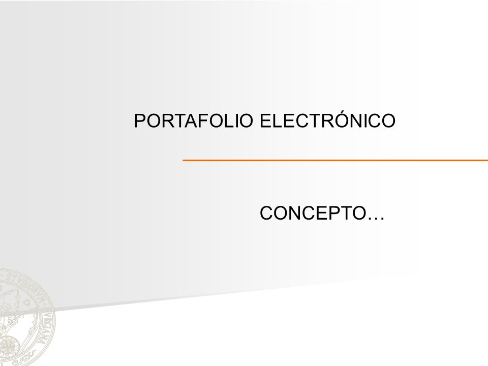 PORTAFOLIO ELECTRÓNICO CONCEPTO…