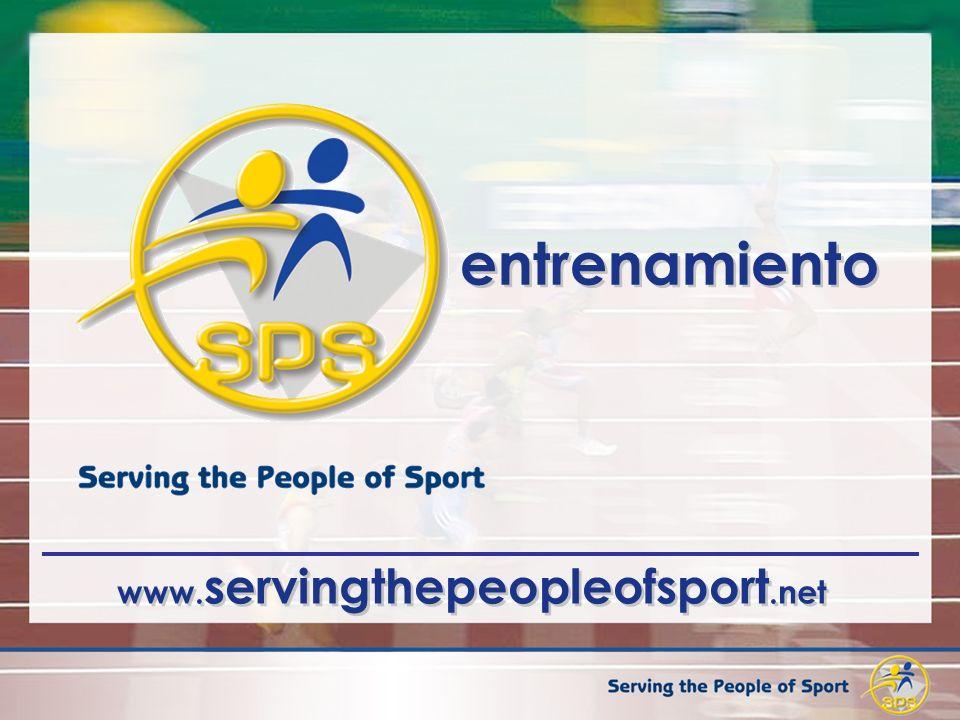 www. servingthepeopleofsport.net entrenamiento