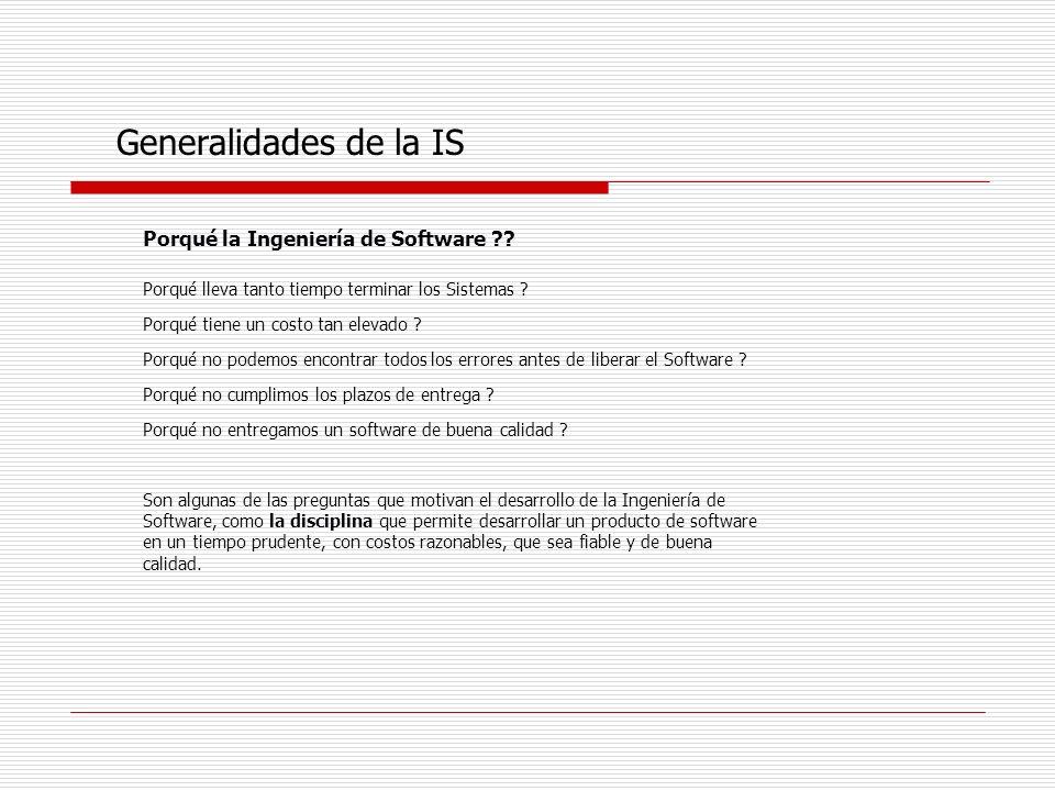 Grandes proyectos de software Qué es un proyecto grande de software .