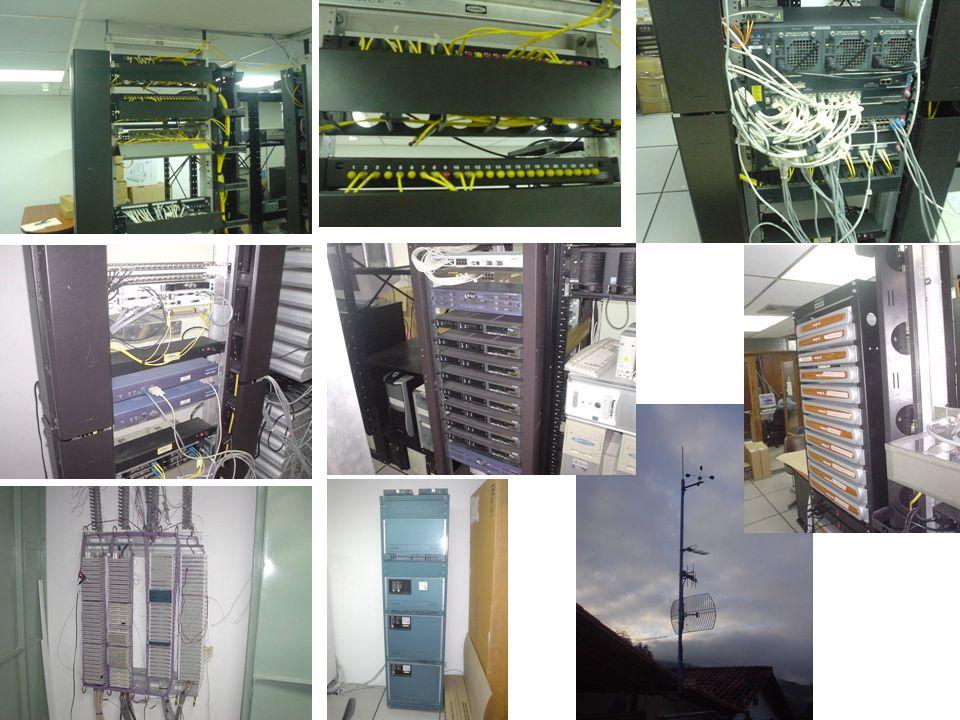 Baterías Central IP Swicht Teléfono IP Fibra óptica Teléfono IP U P S Router Swicht Teléfono IP lejano