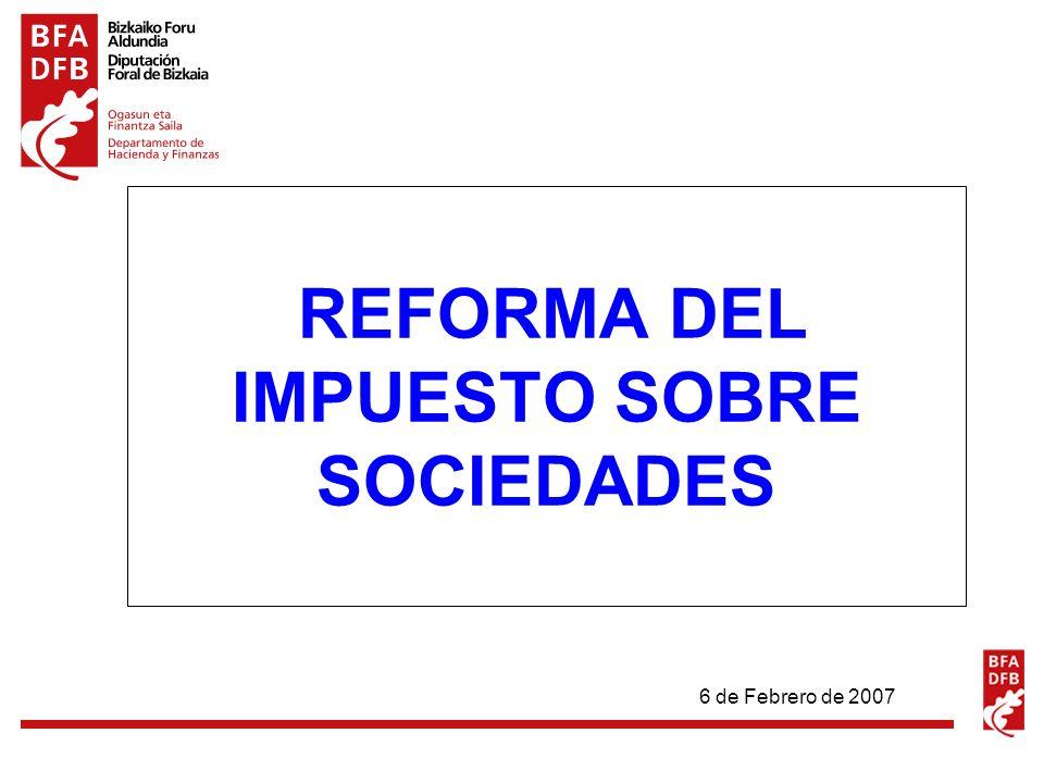 Reforma del Impuesto sobre Sociedades 2 CARACTERÍSTICAS DE LA REFORMA REFORMA PARCIAL DEL I.