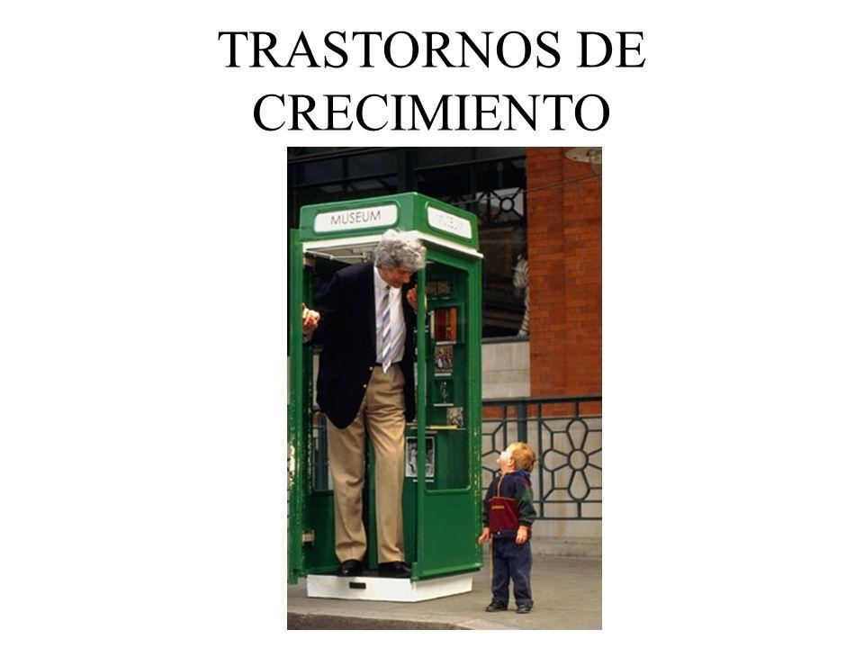 TRASTORNOS DE CRECIMIENTO