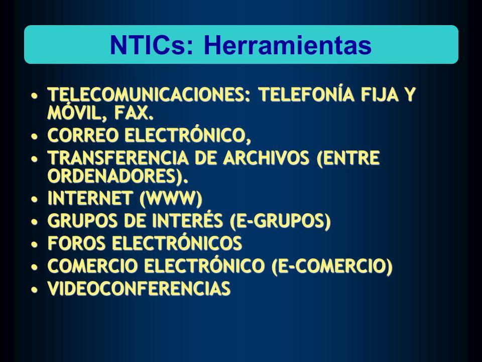 TELECOMUNICACIONES: TELEFONÍA FIJA Y MÓVIL, FAX.TELECOMUNICACIONES: TELEFONÍA FIJA Y MÓVIL, FAX. CORREO ELECTRÓNICO,CORREO ELECTRÓNICO, TRANSFERENCIA