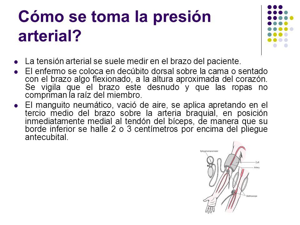 SIGNOS VITALES PRESION ARTERIAL HIPOTENSIÓN ARTERIAL: tiene cifras de tensión inferiores a 100 mmHg sistólica. Puede ser: Primaria o esencial: no hay