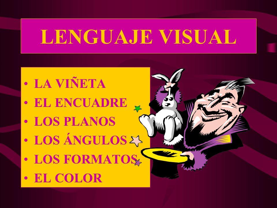 LOS FORMATOS El formato es el modo de presentar el encuadre en el papel.