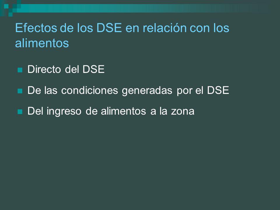 Algunas medidas para asegurar la inocuidad del suministro de alimentos en DSE Planificar acciones de emergencia para tomar Antes Durante, y Después del DSE