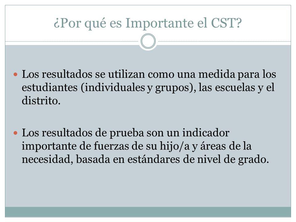 ¿Por qué es Importante el CST.
