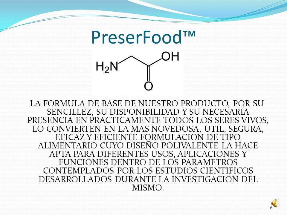 Aplicaciones La formulación de nuestro producto lo convierten en un complejo de preservación especialmente adecuado para su aplicación a los pescados y la carne fresca refrigerados, contra microorganismos y bacterias como la E.