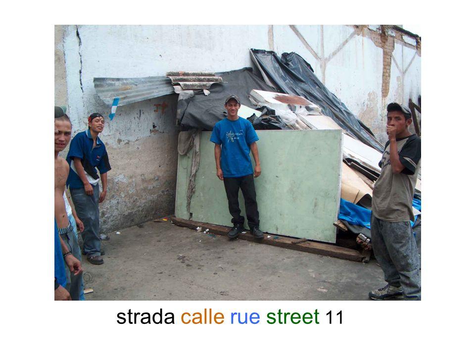 strada calle rue street 11