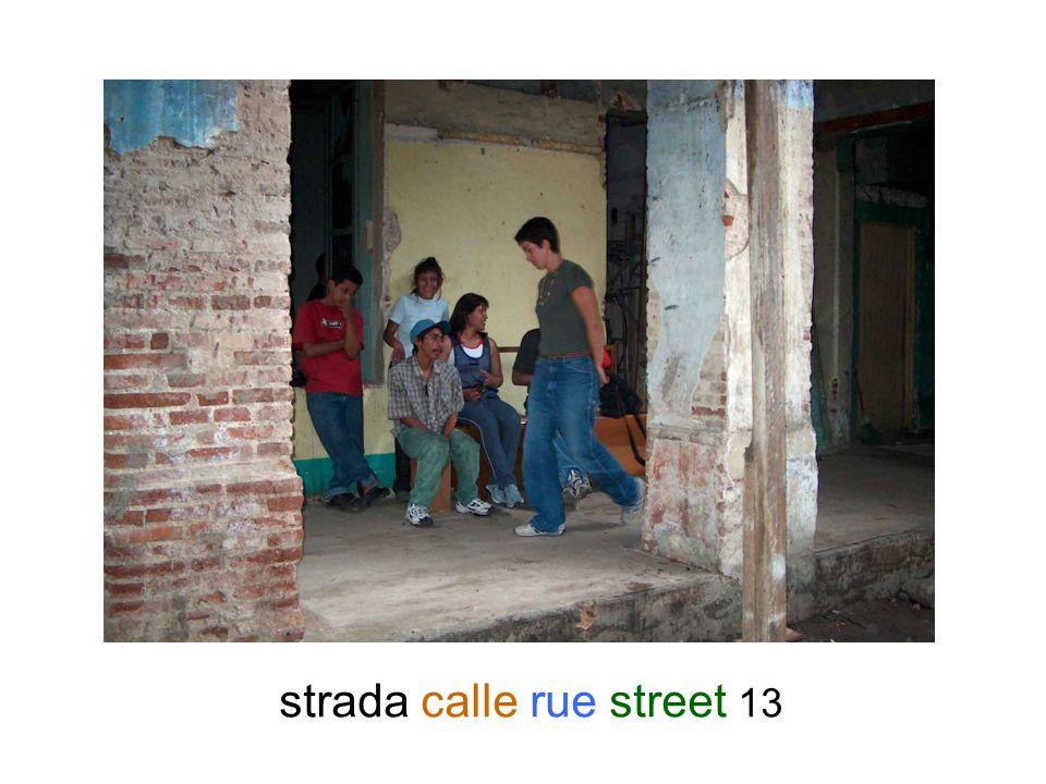 strada calle rue street 13