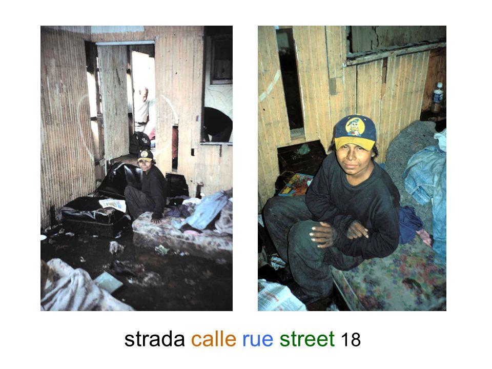 strada calle rue street 18