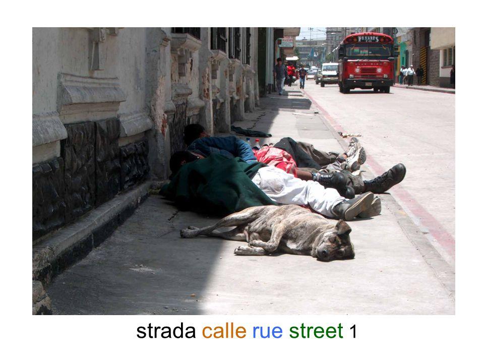 strada calle rue street 1