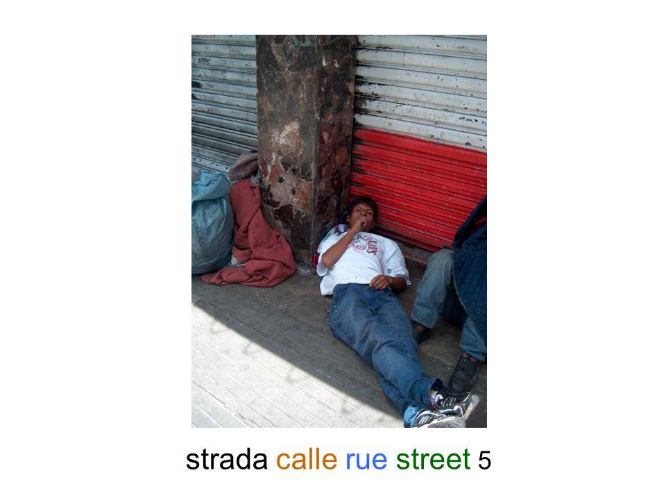 strada calle rue street 5