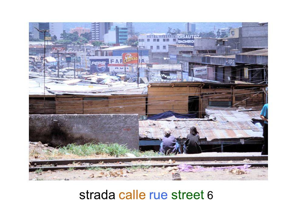 strada calle rue street 6
