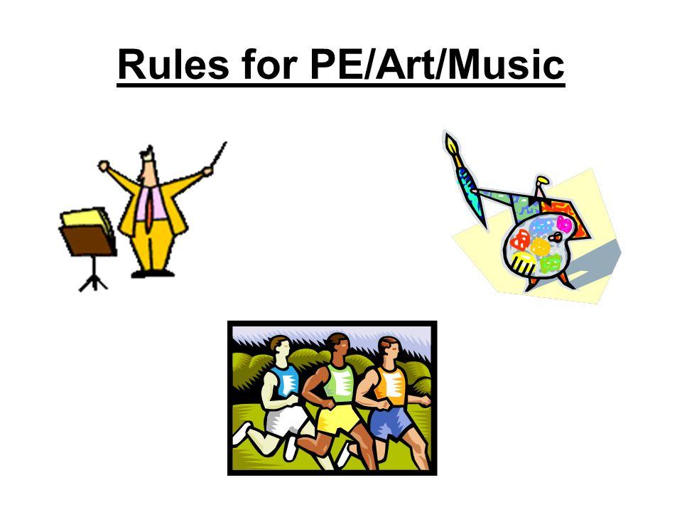 M.C.Lively Elementary Discipline Plan/Art, Music, P.E.