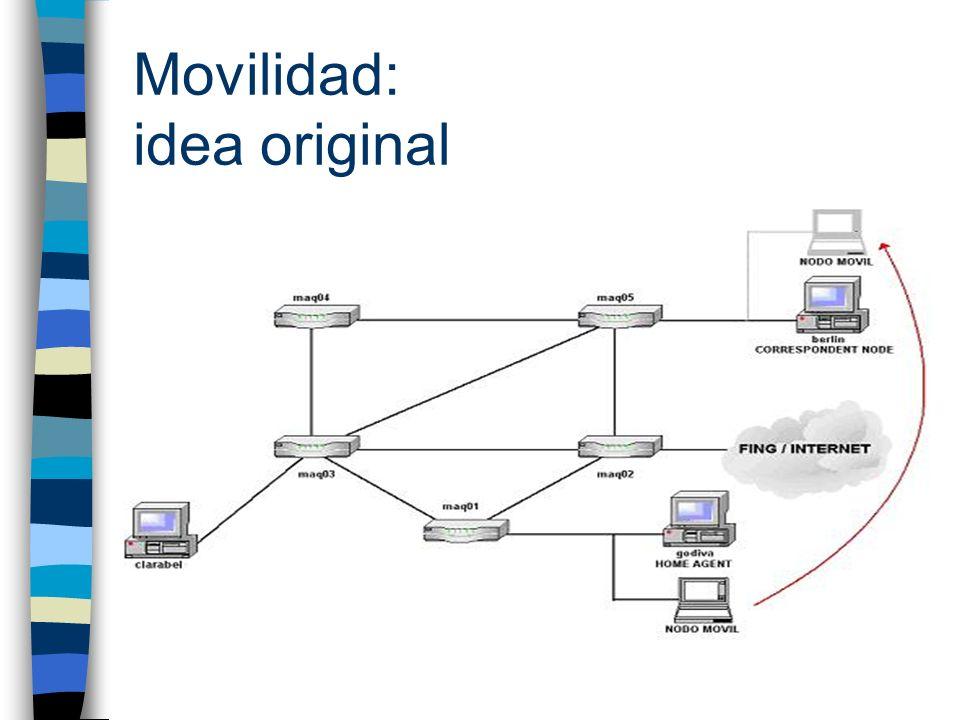 Movilidad: idea original