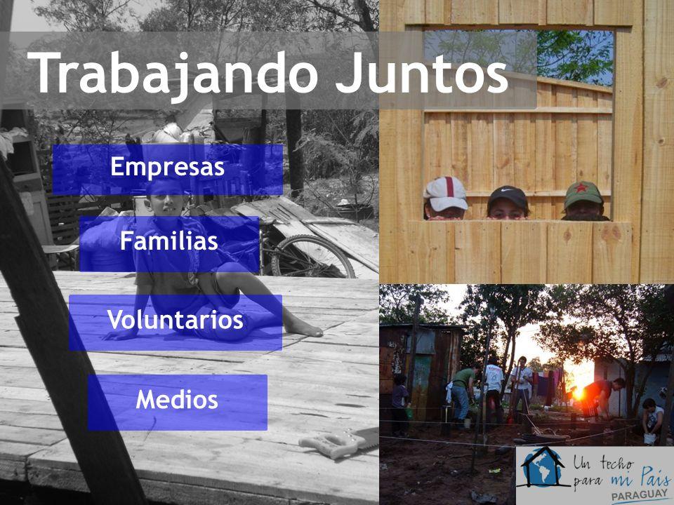 Trabajando Juntos Empresas Familias Voluntarios Medios