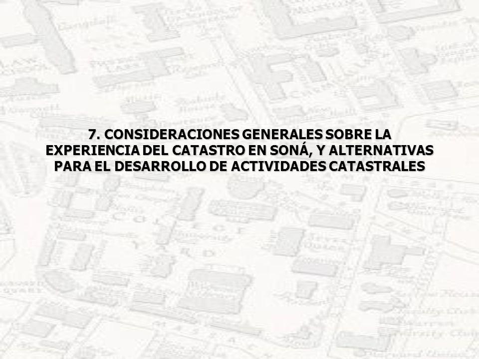 7.1 LECCIONES APRENDIDAS,RECOMENDACIONES Y DESARROLLO DE UN MODELO DE CATASTRO PARTICIPATIVO IMPORTANCIA DE LA SENSIBILIZACIÓN A LAS AUTORIDADES LOCALES.