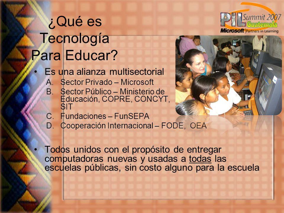 ¿Qué es Tecnología Para Educar.