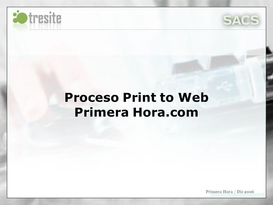 Endi.com / Mayo 2006 Priorizar las páginas principales En la primera corrida de Tera (por la tarde) no se deben priorizar las páginas principales para no borrar el contenido del día actual.