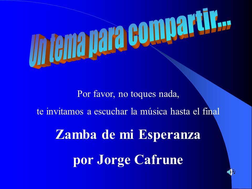 Por favor, no toques nada, te invitamos a escuchar la música hasta el final Zamba de mi Esperanza por Jorge Cafrune