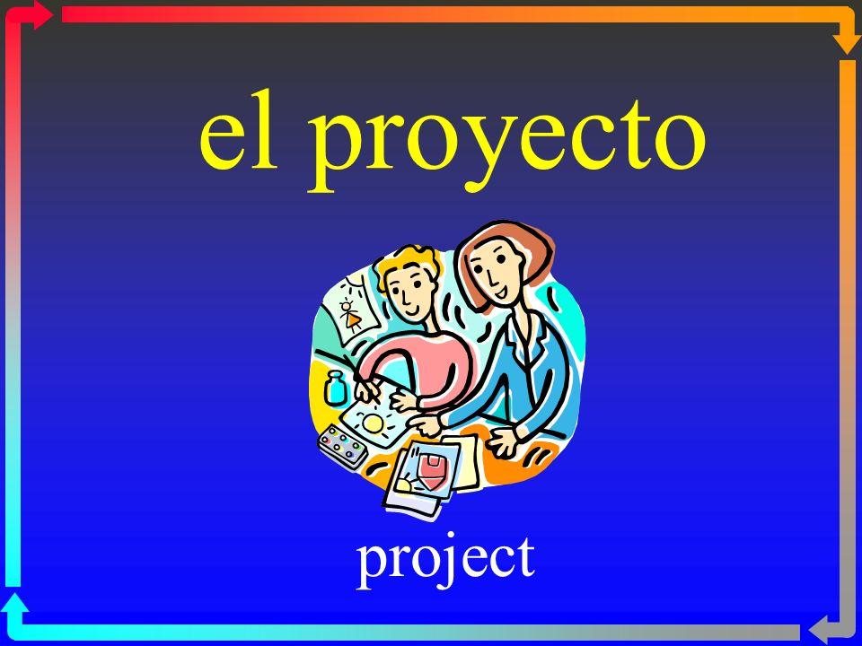 el proyecto project