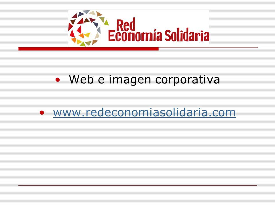 Web e imagen corporativa www.redeconomiasolidaria.com
