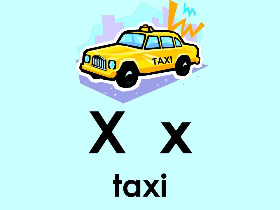 X x taxi TAXI