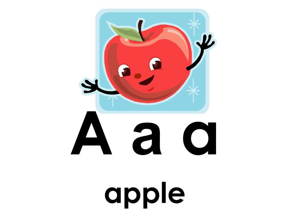 A a a apple