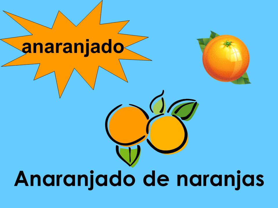 Anaranjado de naranjas anaranjado