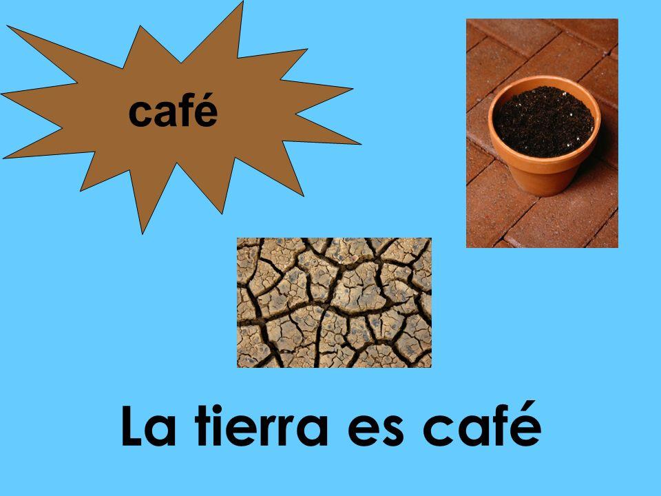 La tierra es café café