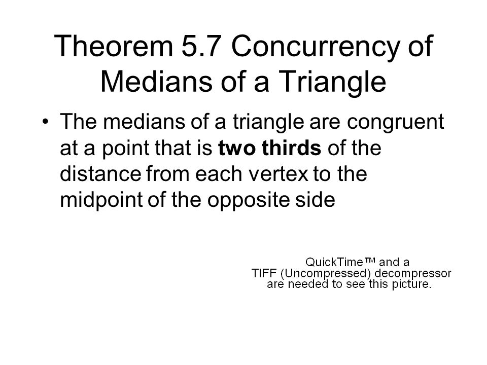 Theorem 5.8 Concurrency of Altitudes of a Triangle The lines containing the altitudes of a triangle are concurrent