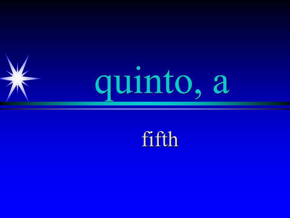 sexto, a sixth